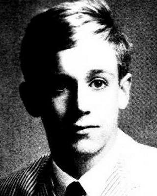 Young Iggy Pop yearbook picture