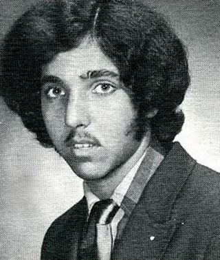 Young Ron Jeremy yearbook picture