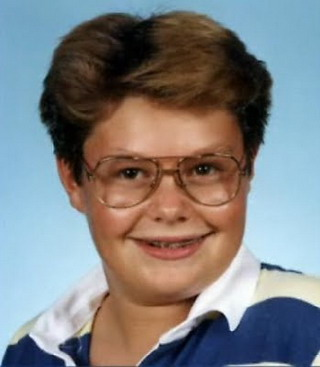 Young Ryan Seacrest before he was famous yearbook picture
