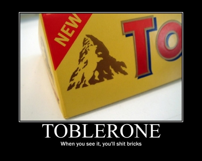 Toblerone bear