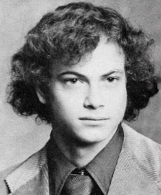 Young Gary Sinise before he was famous yearbook picture