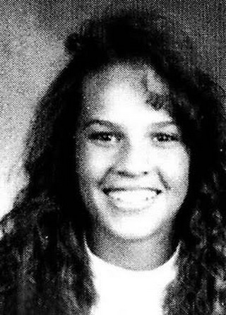Young Hillary Swank before she was famous yearbook picture