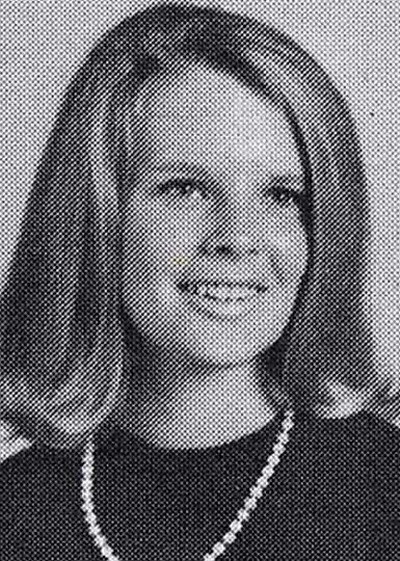 Young Kim Basinger yearbook picture