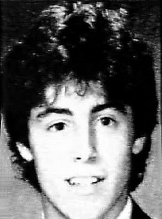 Young Matt LeBlanc before he was famous yearbook picture