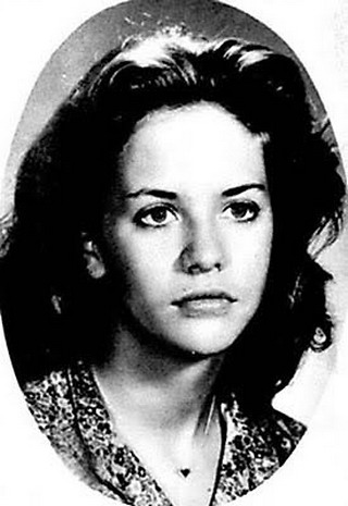Young Meg Ryan yearbook picture