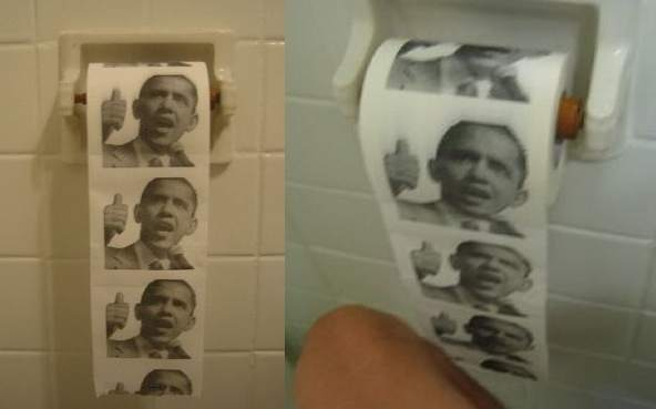 Obama toilet paper