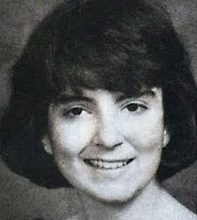 Young Tina Fey yearbook picture