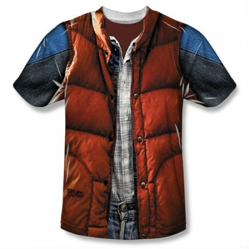 Back to the Future Marty McFly t-shirt