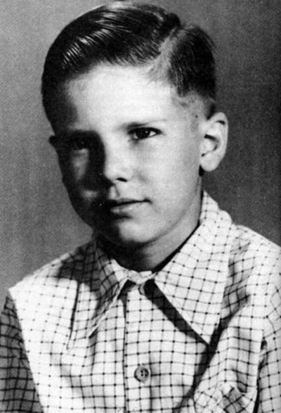 Young Harrison Ford yearbook picture