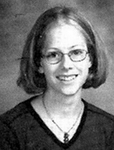 Young Avril Levigne yearbook picture