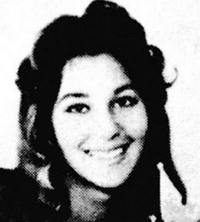 Young Cher yearbook picture