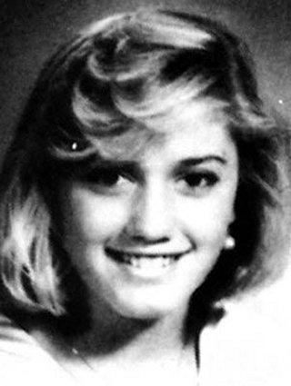 Young Gwen Stefani yearbook picture