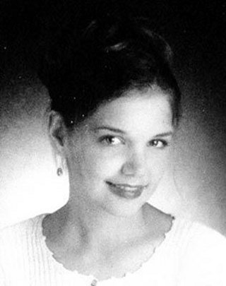 Young Katie Holmes yearbook picture