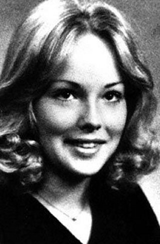 Young Sharon Stone before she was famous yearbook picture