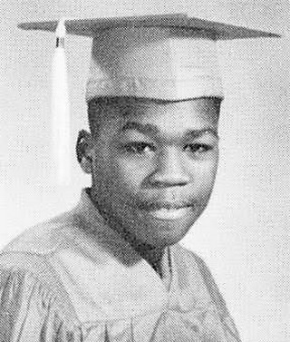 Young 50 Cent graduation yearbook picture