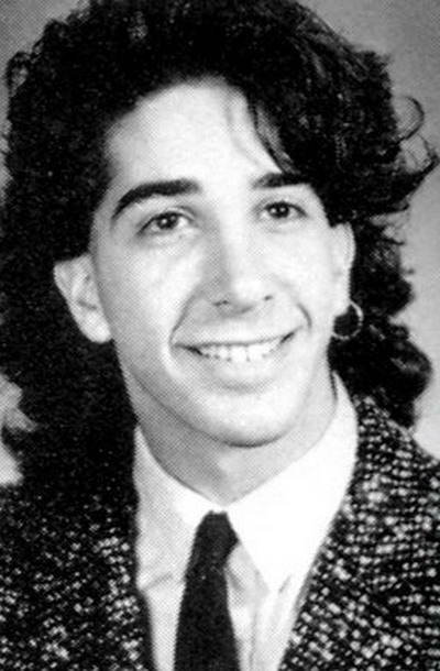 Young David Schiwmer yearbook picture