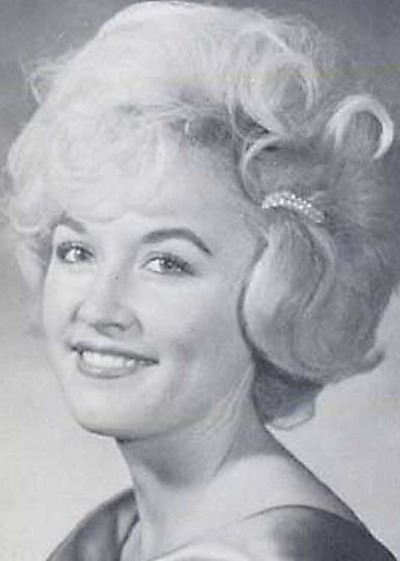 Young Dolly Parton yearbook picture