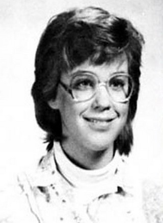 Young Kate Gosselin before she was famous yearbook picture