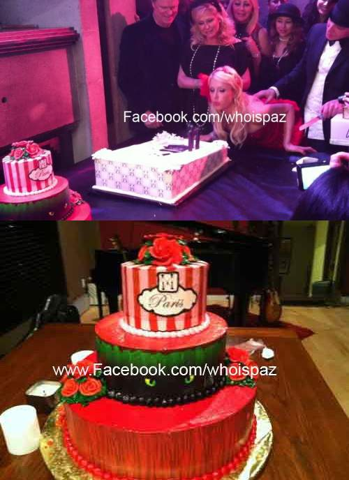 Guy crashes Paris Hilton's birthday party and Stole the whole cake,celebrities, funny, funny pics, really funny facebook pics, Funny Facebook Pictures, facebook,paris hiltons cake, paris hilton cake stolen, robbery humor, HUMOR