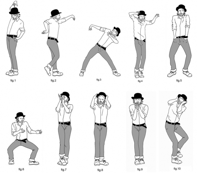 how to thom yorke s dance moves