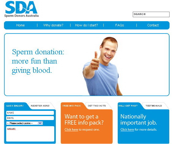 Cheap sperm donors in australia
