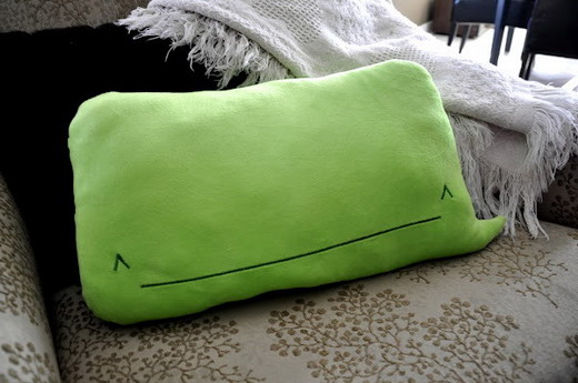 Plush iPhone whale cushion pillow