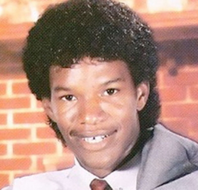 Young Jamie Foxx before he was famous