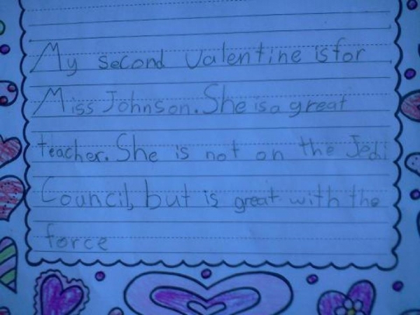 Kids Write The Darndest Valentine 39 S Day Cards
