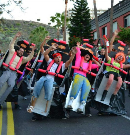 Rollercoaster costume