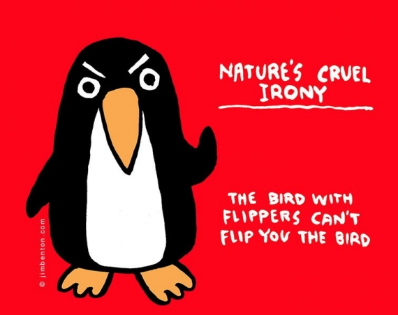 Nature's cruel irony
