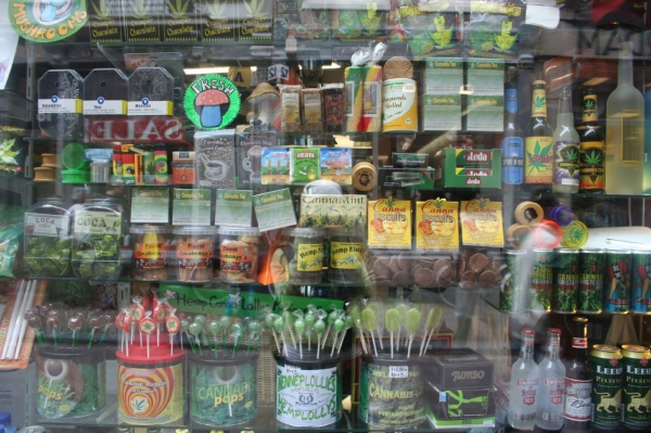 Marijuana store