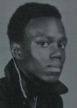 Young Bernie Mac yearbook picture