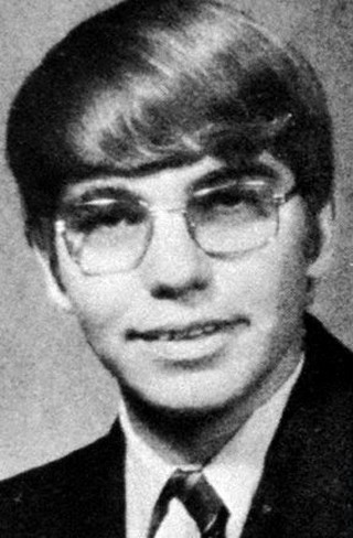 Young Billy Bob Thornton before he was famous yearbook picture