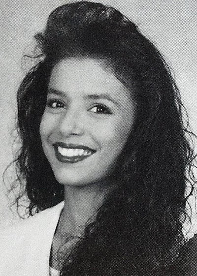 Young Eva Longoria before she was famous yearbook picture