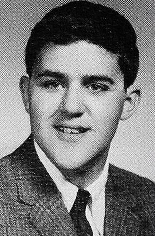 Young Jay Leno before he was famous yearbook picture