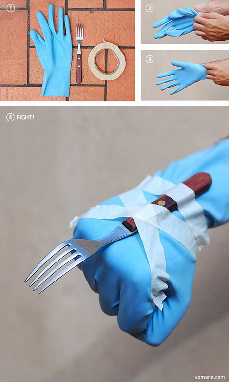 Fork Wolverine glove