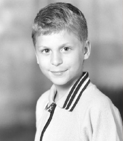 Young Michael Cera yearbook picture