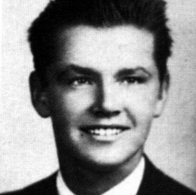 Young Jack Nicholson yearbook picture