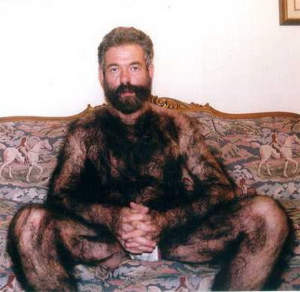 Hairy man