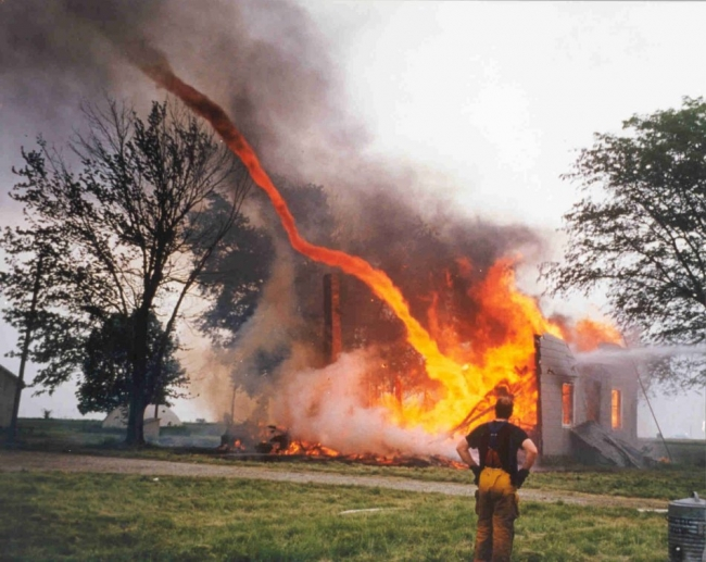 Fire tornado