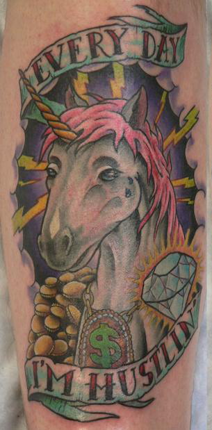 Tattoo of the day. Wednesday, April 22, 2009