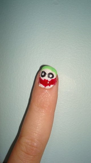 Why so serious nail polish