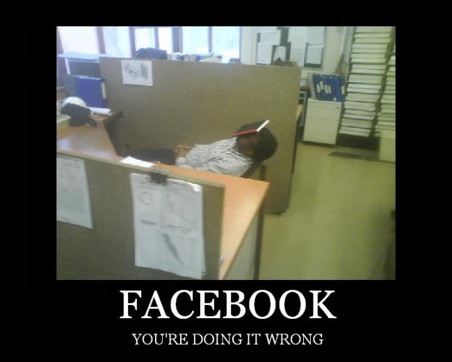 Faebook - You're doing it wrong