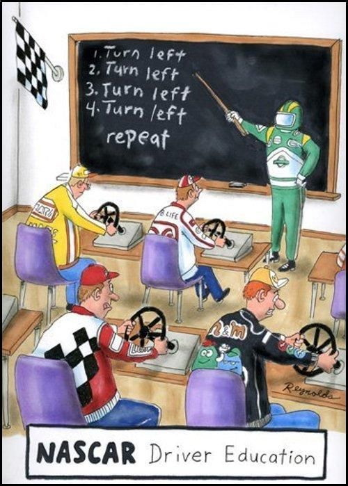 NASCAR Driving Education