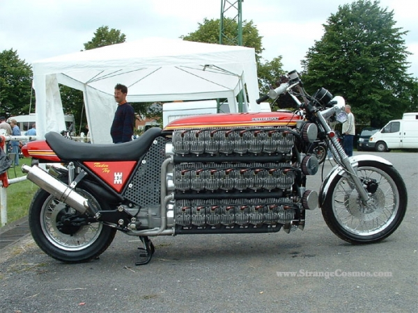 48 cylinder motorcycle