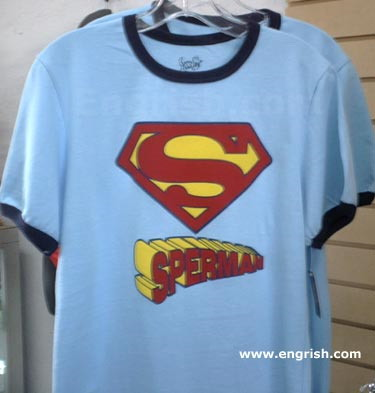 Sperman T-shirt