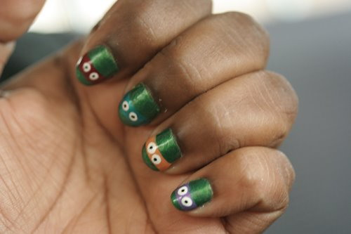 Teenage Mutant Ninja Turtles nail polish