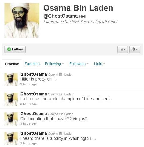 Bin Laden 39 s death. Osama Bin Laden#39;s ghost