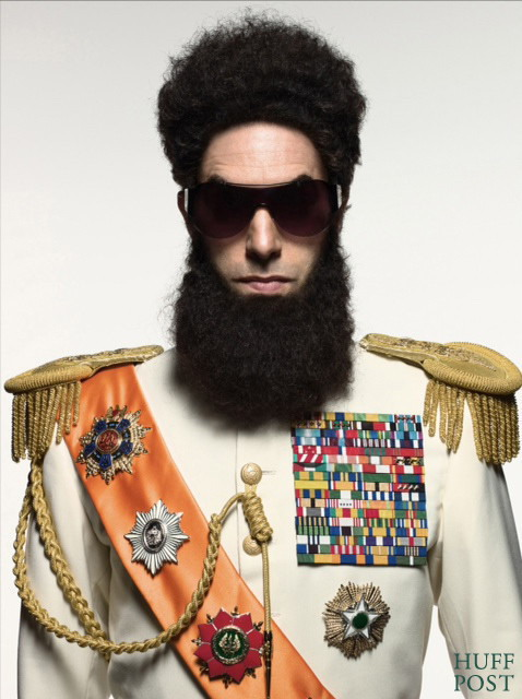 Sasha Baron Cohen - the Dictator