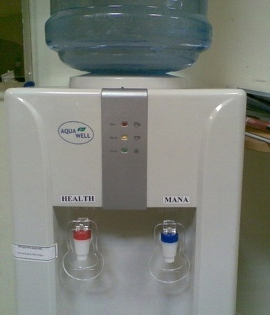 Health/Mana watercooler